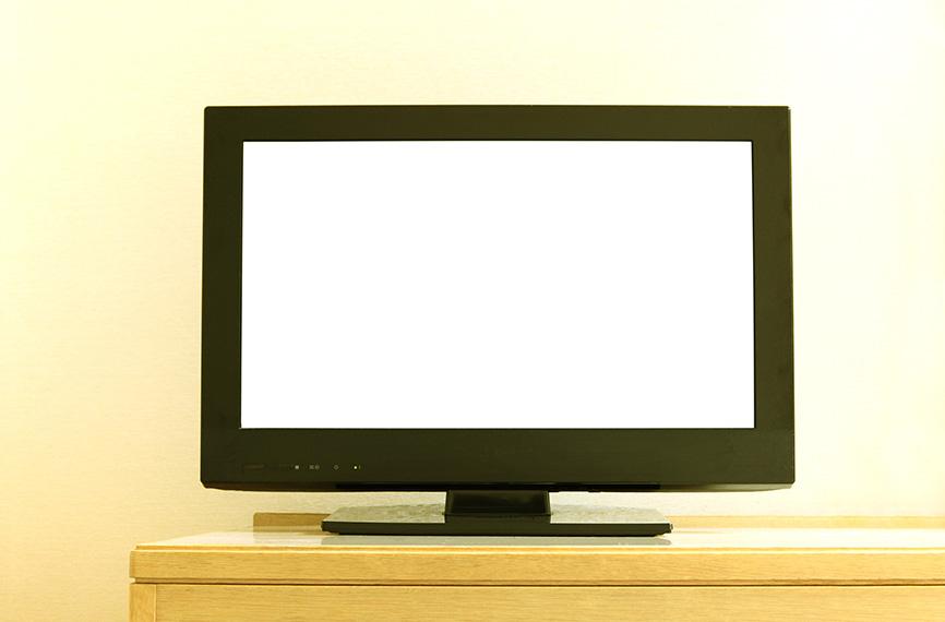 【1K・1LDK】ぴったりなテレビの大きさと部屋を広く使えるレイアウト